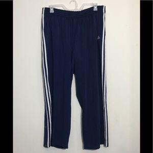 Men's Adidas Vintage Navy & White Track Pants